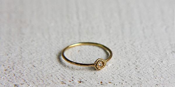 hirondelle(イロンデール) hr-9-2-227-228 ダイヤモンドリング
