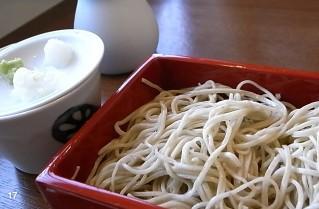 「更科藤井」の蕎麦