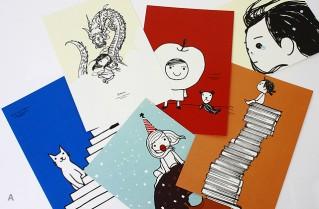 ウマカケバ クミコ展 「ageless.」のポストカード