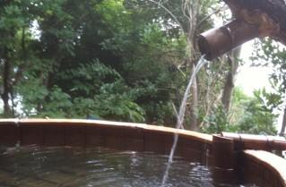 白浜のホテル 海舟の露天風呂