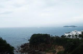 白浜のホテル 海舟 客室からの眺め