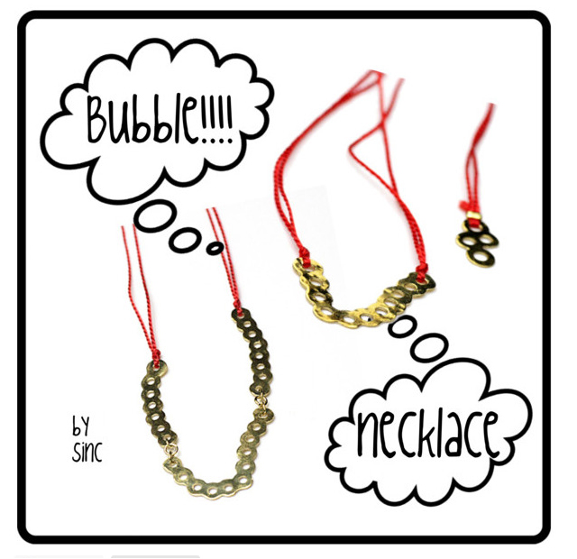 sinc(シンク)Bubble Necklace