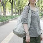 さりげなく女子感が漂うSEASIDE FREERIDEのバッグ