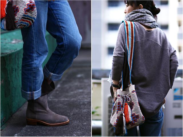 sophie anderson(ソフィーアンダーソン)のバッグでアーバンエスニック