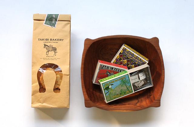 TAKIBI BAKERY(タキビ ベーカリー)のお菓子と紅茶