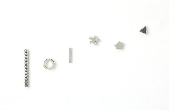 siki(シキ)のシングルピアスたち