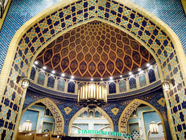 モスクのようなスターバックス