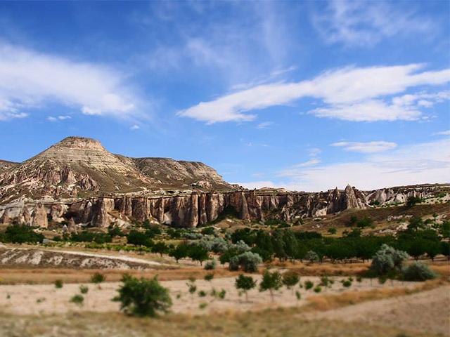 カッパドキアの岩石