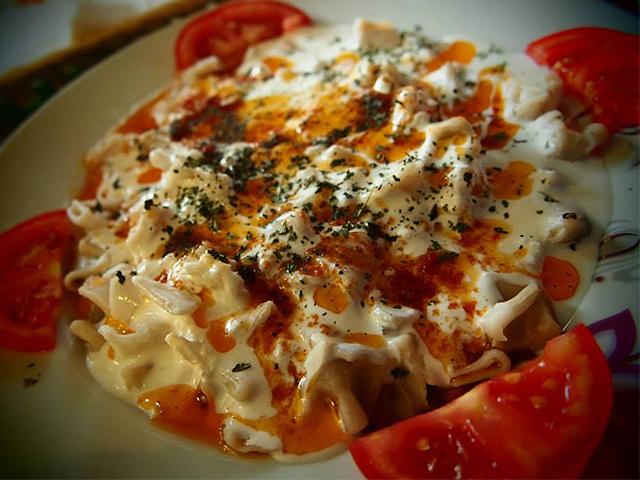 トルコ料理:マントゥ
