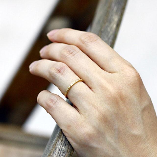 hirondellek18 h-r-8-2-186 ダイヤモンドリング