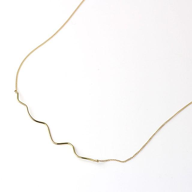 hirondellek18 hn-421 stick wave ネックレス