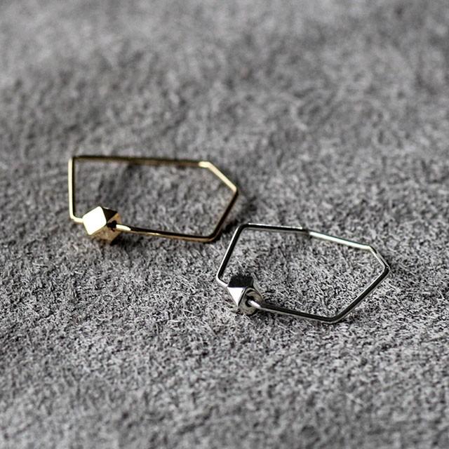siki(シキ)SK-R25-K18 七角形とカケラのリング