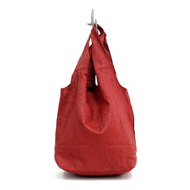 SEASIDE FREERIDEレザー ショッピングバッグ SP BAG /スムース 全5色