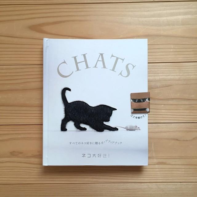 『CHATS ネコ大好き! すべてのネコ好きに贈るポップアップブック』 ジャン・キュブリエ博士 (著)