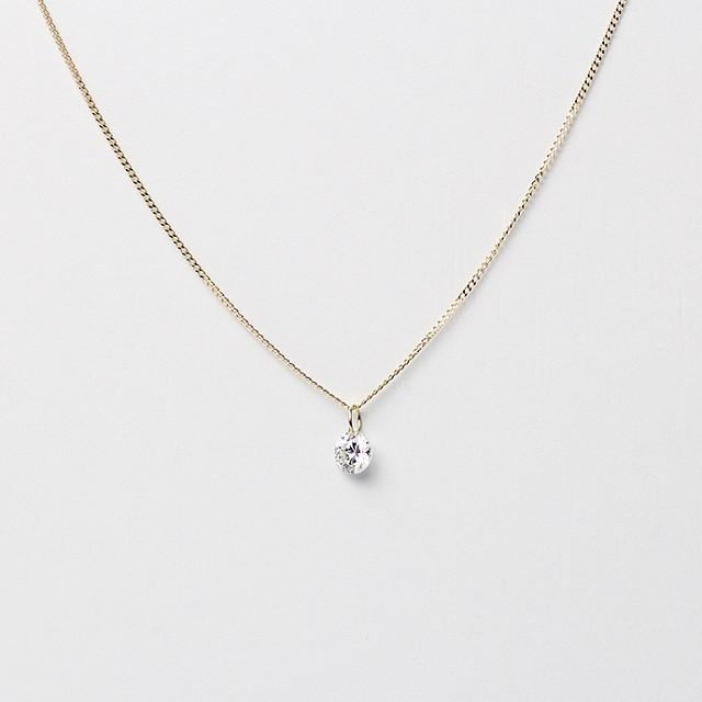 hirondellek18 hn-468 ルースダイヤ ネックレス(限定品)