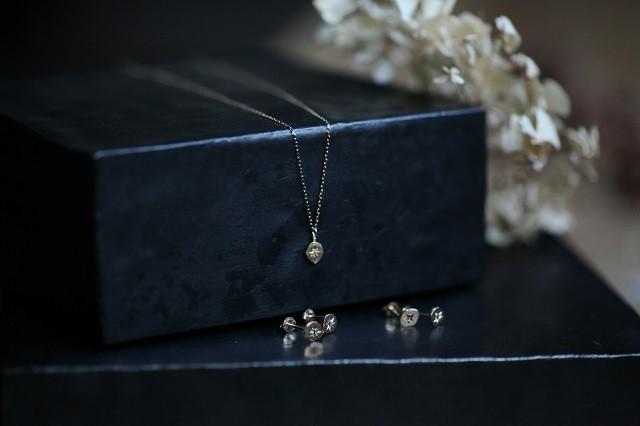 ivyk10 スターネックレス/ダイヤモンド