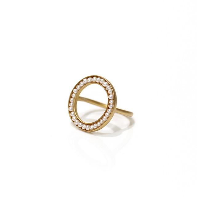 RiceRO1-01 ●pearl ring マルパールリング